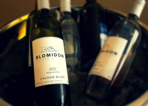 L'acadie 2010 from Blomidon  Estate Winery