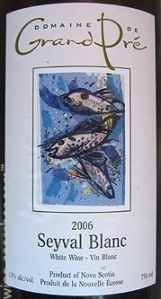 Seyval Blanc 2006 from Domaine de Grand Pre